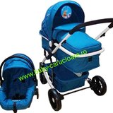 Carucior nou nascut 3 in 1 Baby Care YK 18-19